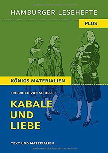 Kabale und Liebe: Hamburger Leseheft plus Königs Materialien