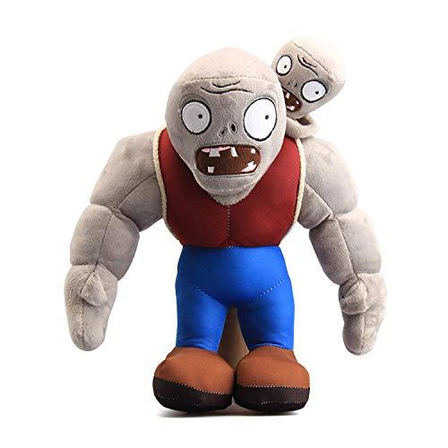 Maikerry 12' PVZ Gargantuar Zombies Plush Toys Stuffed Soft Doll Muscle Zombies