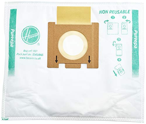 Hoover 35601865 H81-Hoover Staubsaugerbeutel für Epa, 3.5 Liter, Papier