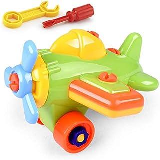أوبول البلاستيك الجمعية الكرتون الطائرة الاطفال التعليمية التعلم اللعب