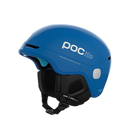 POC Unisex-Youth POCito Obex Spin Helm, Fluorescent Blue, MLG