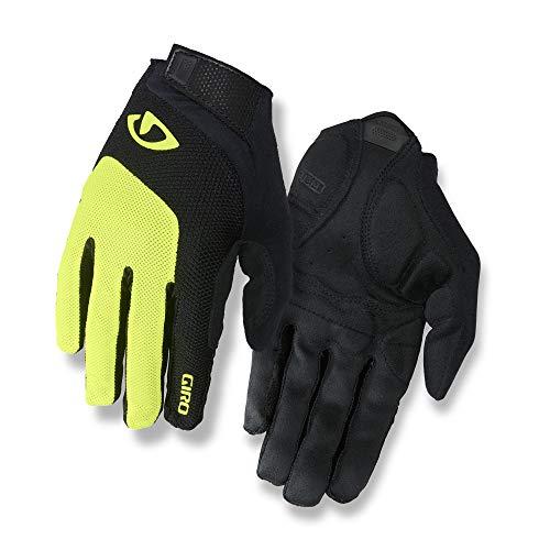 Giro Bravo Gel LF Men's Road Cycling Gloves - Highlight Yellow (2021), Medium