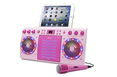 Akai KS303W-BT Bluetooth CD&G Karaoke System