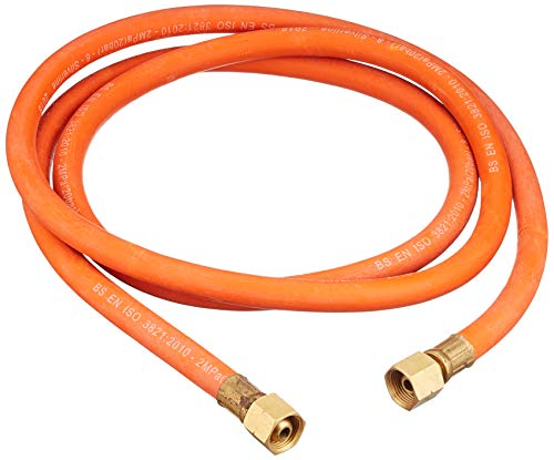 Silverline 633926 - Manguera gas conectores 2 m