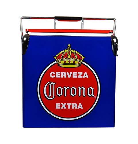 Corona Retro Ice Chest Cooler with Bottle Opener 13 L /14 Quart