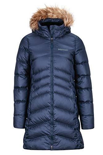 Marmot Damen Wm's Montreal Coat' Leichte Daunenjacke, 700 Fill-Power, Warmer Parka, Wintermantel, Wasserabweisend, Winddicht, Arctic Navy, M