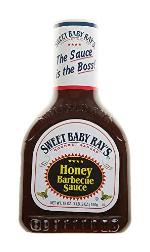 Sweet Baby Rays Barbecue Sauce, Honey, 18 oz -  Sweet Baby Ray's, 13409341155