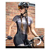Abiti da donna Triathlonal Vestiti da ciclismo Skinsuits Kit tuta Kit (Color : Women skinsuit1131, Size : XX-SMALL)