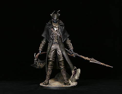 Derya Bloodborne Old Hunter e Corvo Old Hunter Bilancia Figura 30 cm,Old Hunter