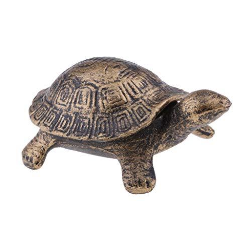 Fenteer Schildkröte Aschenbecher Windaschenbecher, aus Stahl