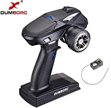 DUMBORC X4 4CH RC Radio System Transmitter and Receiver X6F 2.4ghz Remote Controller for..