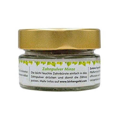 Birkengold Zahnpulver Minze - 30g