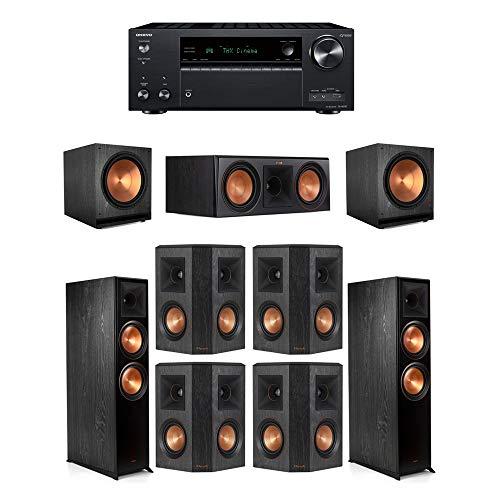 Buy Klipsch7.2.2 Ebony System - 2 RP-8060FA,1 RP-600C,4 RP-402S,2 SPL-150,1 TX-NR797 Receiver