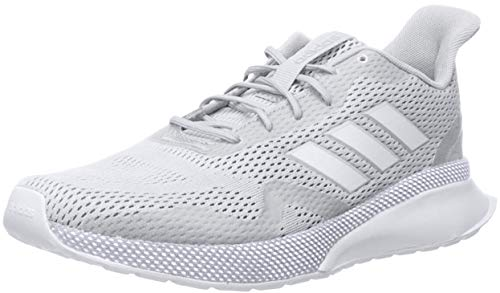 adidas Women's NOVAFVSE X Running Shoe, White/White/Grey, 11 M US