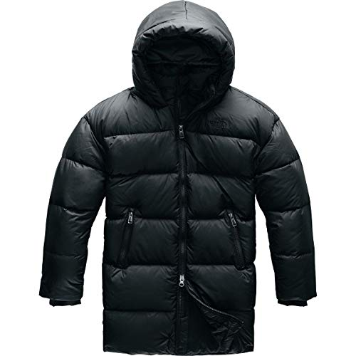 THE NORTH FACE G Gotham Down Daunenjacke, Unisex Kinder XL TNF Schwarz