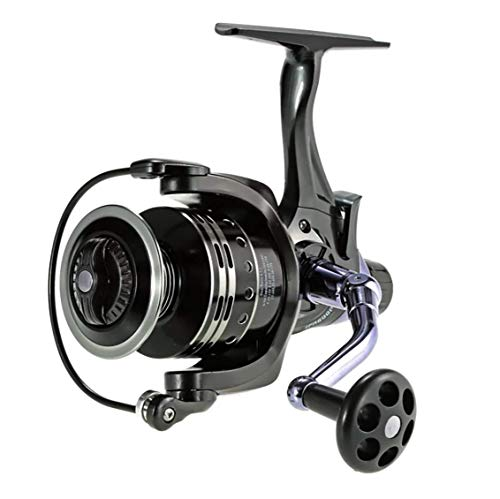 COONOR Full Metal Wire Cup Front and Rear Brake Wheel Fishing Reel. Left and Right Hand Interchangeable Fishing Spinning Reel (5000)