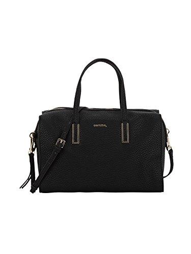 comma (Shoes Damen Tasche Bowlingtaschen, Schwarz (Black 9999), 30x21x16 cm