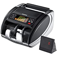 Snan Portable Money Counter with Counterfeit Bill Detector