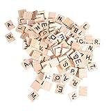 LIOOBO 156pcs 26 Rompecabezas del Alfabeto inglés Rompecabezas Educativo del Alfabeto inglés de Madera Rompecabezas de educación temprana Juguete para niños niños aprendiendo