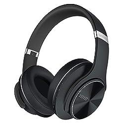 [jusqu 52 heures & un mode cablé]: Écoutez de la musique ou discutez avec vos amis pendant 52 heures avec une seule charge. Avec un câble audio de 3, 5 mm, DOQAUS casque sans fil peut être utilisé comme un casque filaire. Ne vous inquiétez jamais la ...