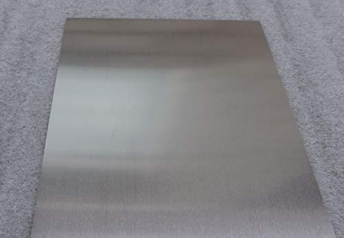 Metalen uitsneden premium kwaliteit 5.0mm aluminium plaat 100mmx17mm