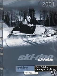 2001 SKI-DOO FORMULA DELUXE 500,600 & 700 PARTS MANUAL