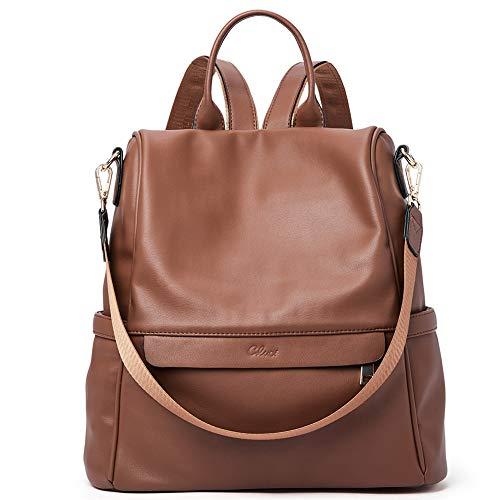Women Backpack Purse Fashion Leather Large Travel Bag Ladies Shoulder Bags...