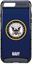 Skinit US Navy Symbol iPhone 8 Plus Cargo Case - Officially Licensed US Navy Phone Case Cargo - Durable Double Layer iPhone 8 Plus Cover