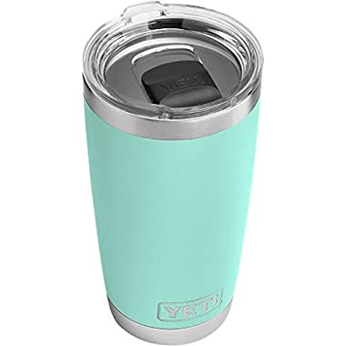 YETI Rambler 20 oz Stainless Steel Vacuum Insulated Tumbler w/ MagSlider Lid, Seafoam