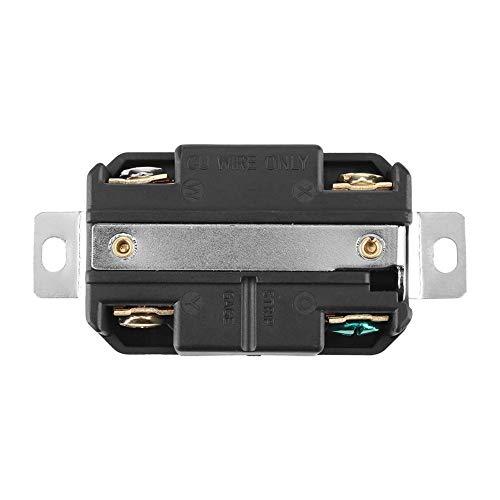 Vrouwelijke connector, L14-20R 20A 125V-250V, vergrendelbare elektrische NEMA-connector voor montage van generatorkabel