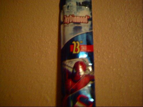 Spiderman, Cerf-Volant mesures environ: 59m