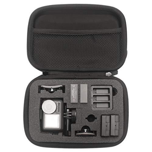 HSKB Drone Handtasche, Portable Handheld Hard Bag Wasserdichter Eva Outdoor Carry on Storage Bag Tasche für DJI OSMO Action 4K-Kamera