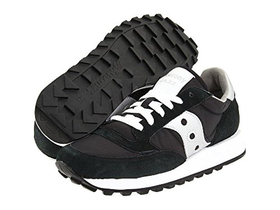セータークラック動物園(サッカニー) SAUCONY 靴?シューズ レディーススニーカー Saucony Originals Jazz Original Black/Silver ブラック/シルバー US 7.5 (24cm) B