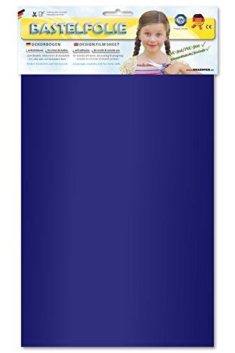 ORASTICK 25-050-B - Bastelfolie, Circa A4, blau