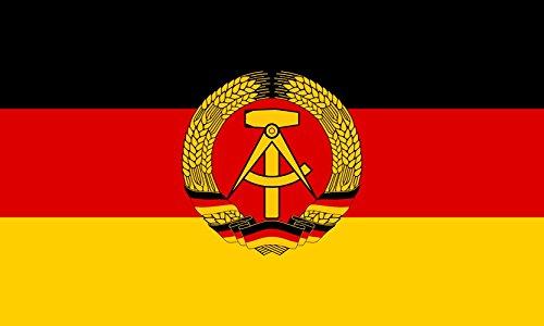 magFlags Bandera Large Español Bandera de la República Democrática Alemana | Bandera Paisaje | 1.35m² | 90x150cm