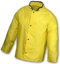 Tingley FR Rain Jacket with Hood, Yellow, XL - J21207