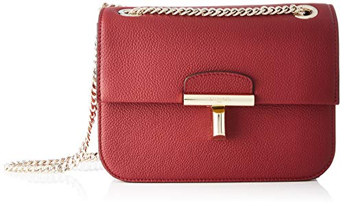 Le Tanneur Women's Shoulder Bag, Red (Bordeaux R03), 9x15x20 cm (W x H x L)