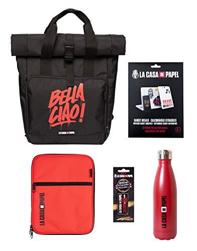 Grupo Erik- Gift Box La Casa di Carta, Scatola Regalo con Set Scuola, PACK0279