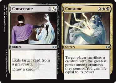 Magic: The Gathering - Consecrate // Consume - Ravnica Allegiance
