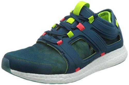 adidas Herren CC Rocket M Laufschuhe, Verde/Rojo (Minera/Seliso/Rojimp), 42 EU