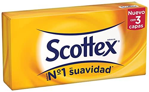 SCOTTEX pañuelos faciales caja 70 uds