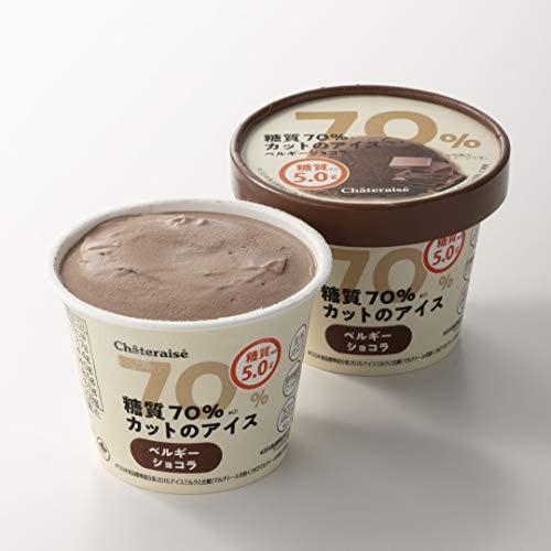 シャトレーゼ糖質70%カットのアイス2種16個入バニラチョコ詰合せ糖質5.0g糖質制限糖質オフ低糖質スイーツ