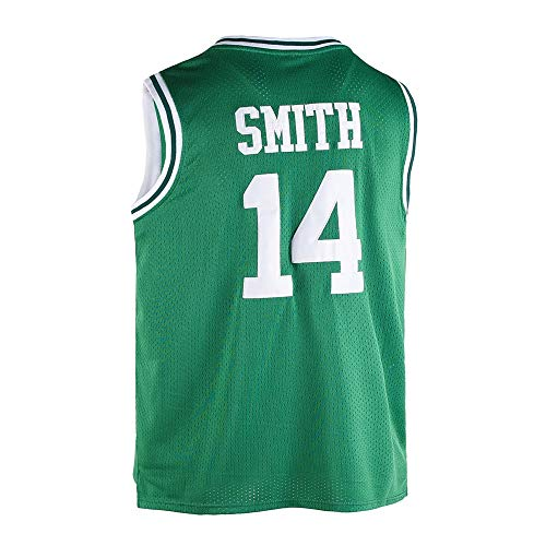 MOOVI GOSAY Mens Jerseys #14 Basketball Jersey Green-M