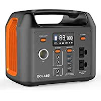 Golabs 299Wh LiFePO4 Battery Backup Portable Power Station (Orange)