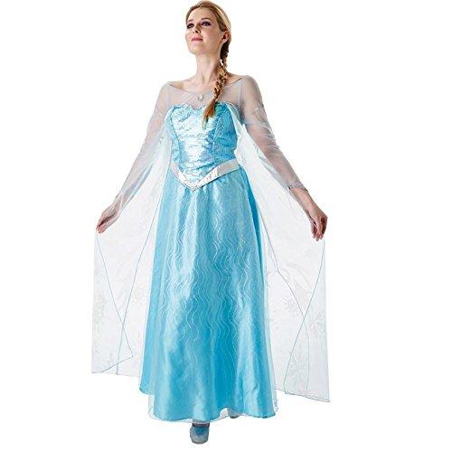 Rubie's-déguisement officiel - Disney- Déguisement elsa reine des neiges- Taille L- CS910243/L