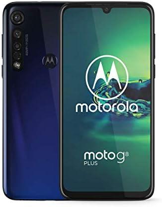 Moto G8 plus Unlocked International GSM only 4 64GB 25MP Camera 2019 Blue product image