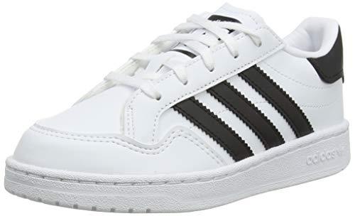 adidas Novice C, Zapatillas de Running, FTWR White Core Black FTWR White-Reloj de Pulsera, 31 EU