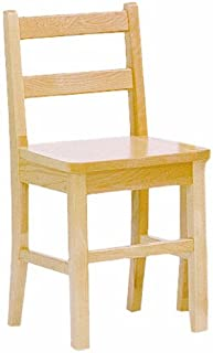 Steffy Wood Products 13-Inch Solid Maple Chair