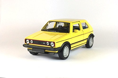 WELLY - VW Golf I GTI gelb