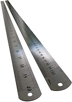 Large Stainless Steel Ruler Rule Measuring Measure Straight Edge 1 Metre Meter 40  100cm